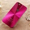 Etui case na iPhone 6 / 6s aluminiowe Spiralo - różowy.