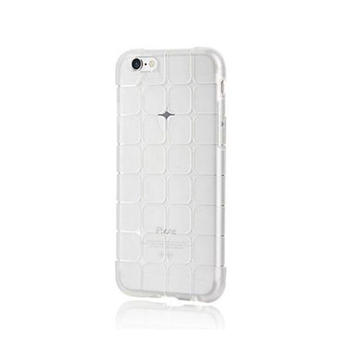 Silikonowe etui Cube na iPhone 5 / 5s - bezbarwny.