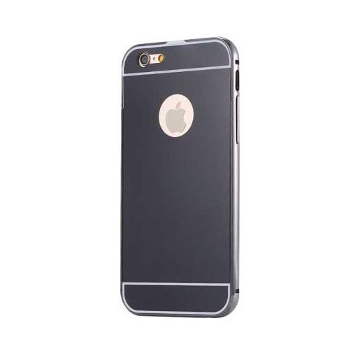 Etui na iPhone 6 Plus Aluminium bumper case - czarny.