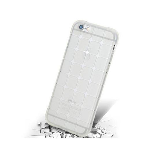 Silikonowe etui Cube na iPhone 6 plus - bezbarwny.