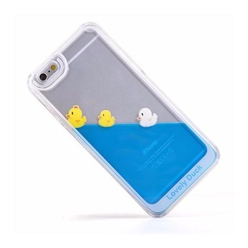 Etui z płynem w środku Stardust na iPhone 6 / 6s - kaczuszki.