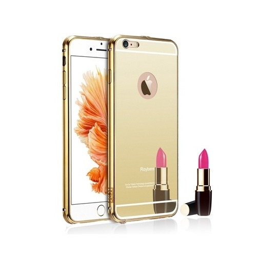 Etui na iPhone 6 Plus Mirror bumper case - Złoty