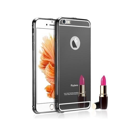Etui na iPhone 6 Plus Mirror bumper case - Czarny