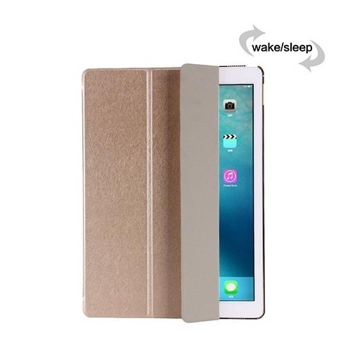 Etui na iPad 2 Smart Cover Silk z klapką - złoty.