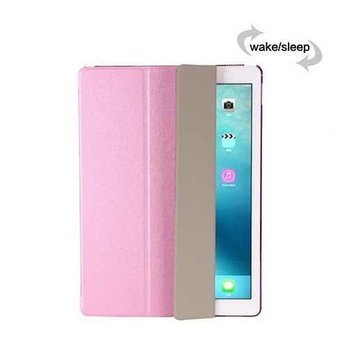 Etui na iPad 2 Smart Cover Silk z klapką - różowy.