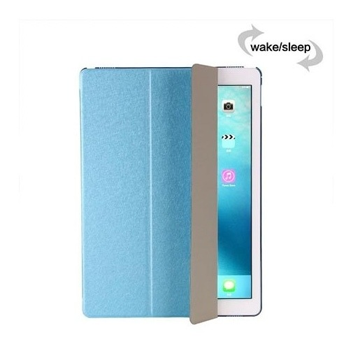 Etui na iPad 2 Smart Cover Silk z klapką - niebieski.