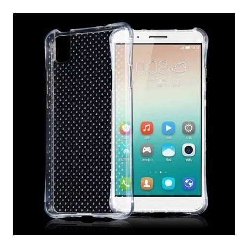 Silikonowe etui na Huawei Honor 7i / ShotX crystal case Air-Shock Corner.