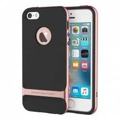 Etui ROCK Royce case na telefon iPhone 5 / 5S - rose gold.
