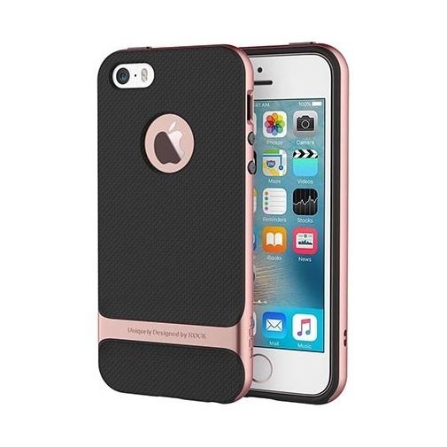Etui ROCK Royce case na telefon iPhone 5 / 5S - rose gold.