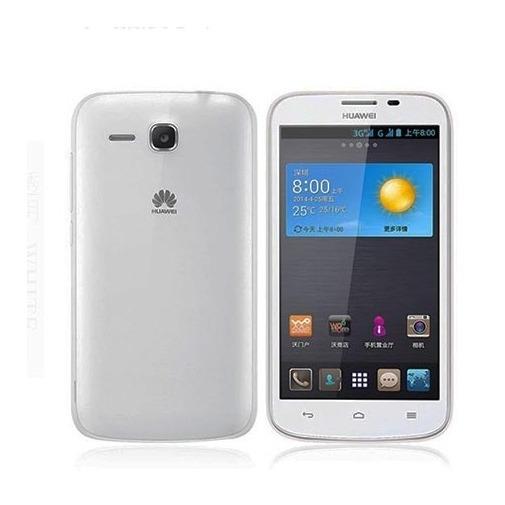 Slim case na Huawei Y600 - silikonowe etui.