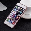 Etui na iPhone 6 / 6s silikonowe platynowane Blink - różowe, Rose gold