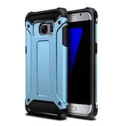 Pancerne etui na Galaxy S7 Edge - niebieski.