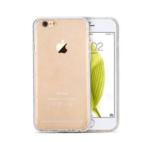 Silikonowe etui na iPhone 6 plus Air-shock - przeźroczyste.
