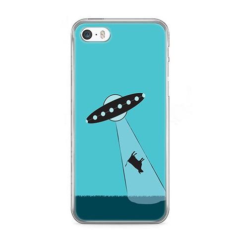 Etui na telefon iPhone 5 / 5s - latający spodek.