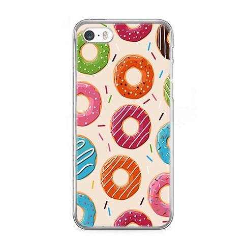 Etui na telefon iPhone 5 / 5s - kolorowe pączki.