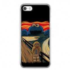 Etui na telefon iPhone 5 / 5s - parodia obrazu krzyk.