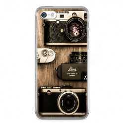 Etui na telefon iPhone SE - aparaty retro.