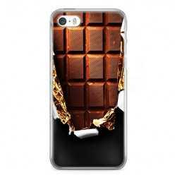 Etui na telefon iPhone SE - tabliczka czekolady.