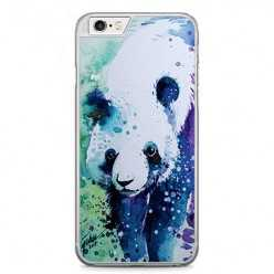Etui na telefon iPhone 6 / 6s - miś panda watercolor.