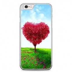 Etui na telefon iPhone 6 / 6s - serce z drzewa.