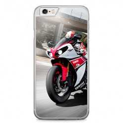 Etui na telefon iPhone 6 / 6s - motocykl ścigacz.