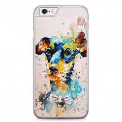 Etui na telefon iPhone 6 / 6s - szczeniak watercolor.