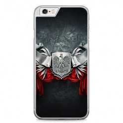 Etui na telefon iPhone 6 / 6s - metalowe Godło.