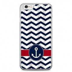 Etui na telefon iPhone 6 / 6s - marynarska kotwica.