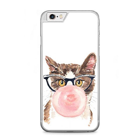 Etui na telefon iPhone 6 / 6s - kot z gumą balonową.