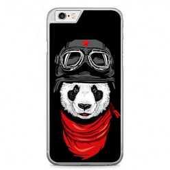 Etui na telefon iPhone 6 Plus / 6s Plus - panda w czapce.