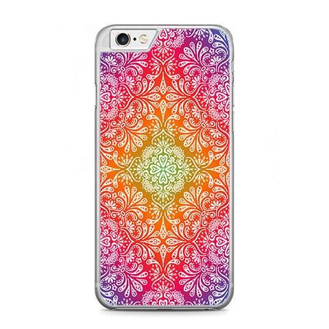 Etui na telefon iPhone 6 Plus / 6s Plus - kolorowa rozeta.