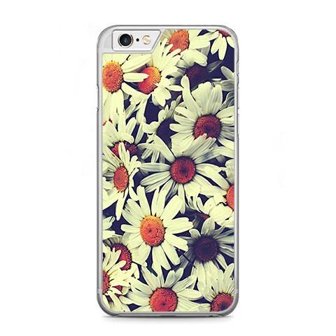 Etui na telefon iPhone 6 Plus / 6s Plus - polne stokrotki.