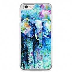 Etui na telefon iPhone 6 Plus / 6s Plus - kolorowy słoń.