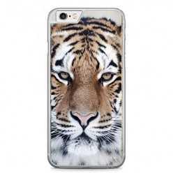 Etui na telefon iPhone 6 Plus / 6s Plus - biały tygrys.