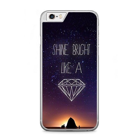 Etui na telefon iPhone 6 Plus / 6s Plus - Shine Bright Like...