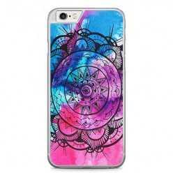 Etui na telefon iPhone 6 Plus / 6s Plus - rozeta watercolor.