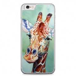 Etui na telefon iPhone 6 Plus / 6s Plus - żyrafa watercolor.