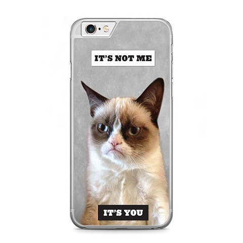Etui na telefon iPhone 6 Plus / 6s Plus - kot maruda.