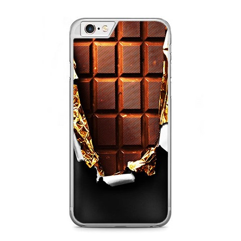 Etui na telefon iPhone 6 Plus / 6s Plus - tabliczka czekolady.