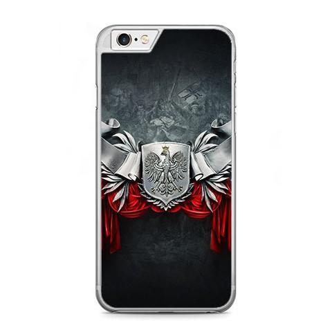 Etui na telefon iPhone 6 Plus / 6s Plus - metalowe Godło.