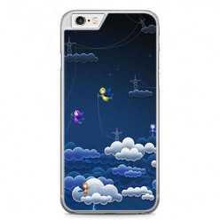 Etui na telefon iPhone 6 Plus / 6s Plus - podniebne aniołki.