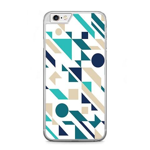 Etui na telefon iPhone 6 Plus / 6s Plus - figury płaskie geometryczne.
