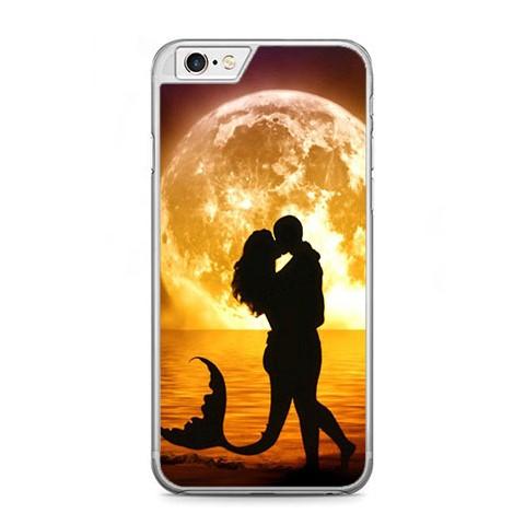 Etui na telefon iPhone 6 Plus / 6s Plus - romantyczny pocałunek.