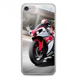 Etui na telefon iPhone 7 - motocykl ścigacz.