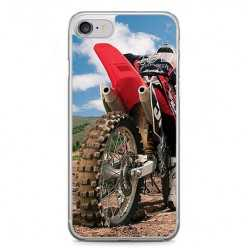 Etui na telefon iPhone 7 - motocykl cross.