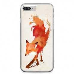 Etui na telefon iPhone 7 Plus - watercolor Lis.