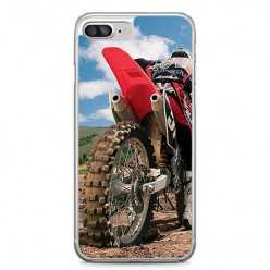 Etui na telefon iPhone 7 Plus - motocykl cross.
