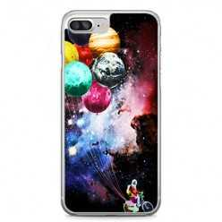 Etui na telefon iPhone 7 Plus - balonowe planety.