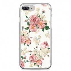 Etui na telefon iPhone 7 Plus - kolorowe polne kwiaty.