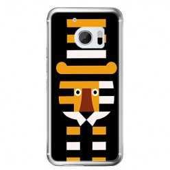 Etui na telefon HTC 10 - pasiasty tygrys.